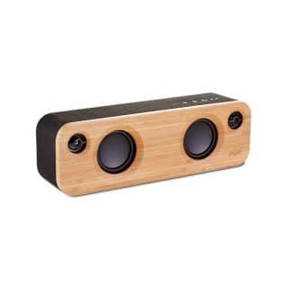 House of Marley Get Together Mini Bluetooth Speaker Black/Tan