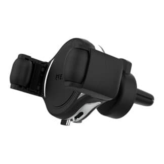EFM 15W Wireless Car Vent Mount Charger With 39W Car Charger - Graphite