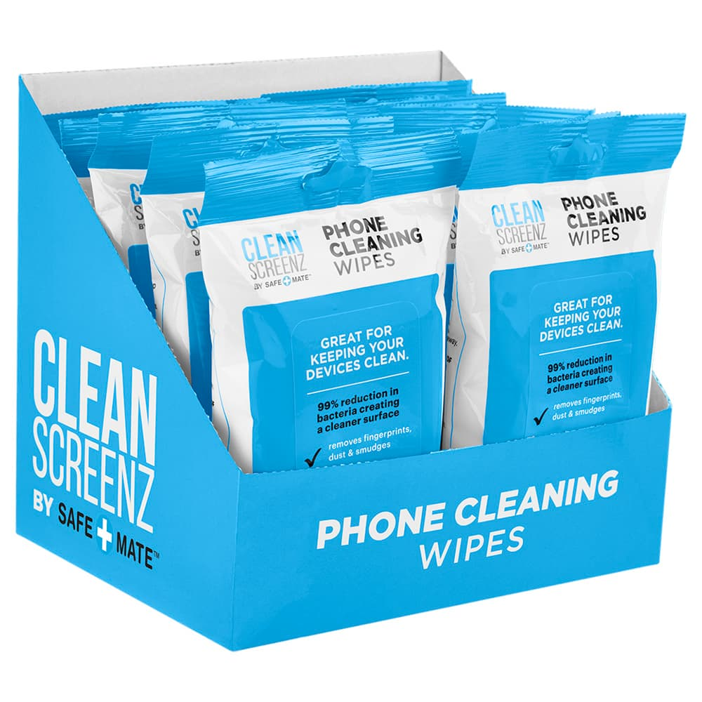 Case-Mate Cleanscreenz Wipes Cleansing Phone Wipes - 20 Pack