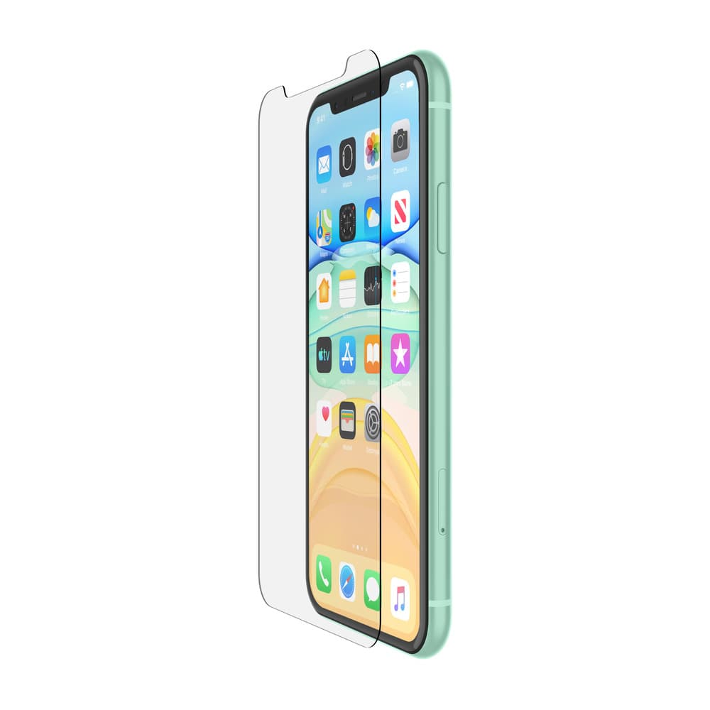 Belkin SCREENFORCE Tempered Glass Screen Protector For Apple for iPhone 11 - Clear