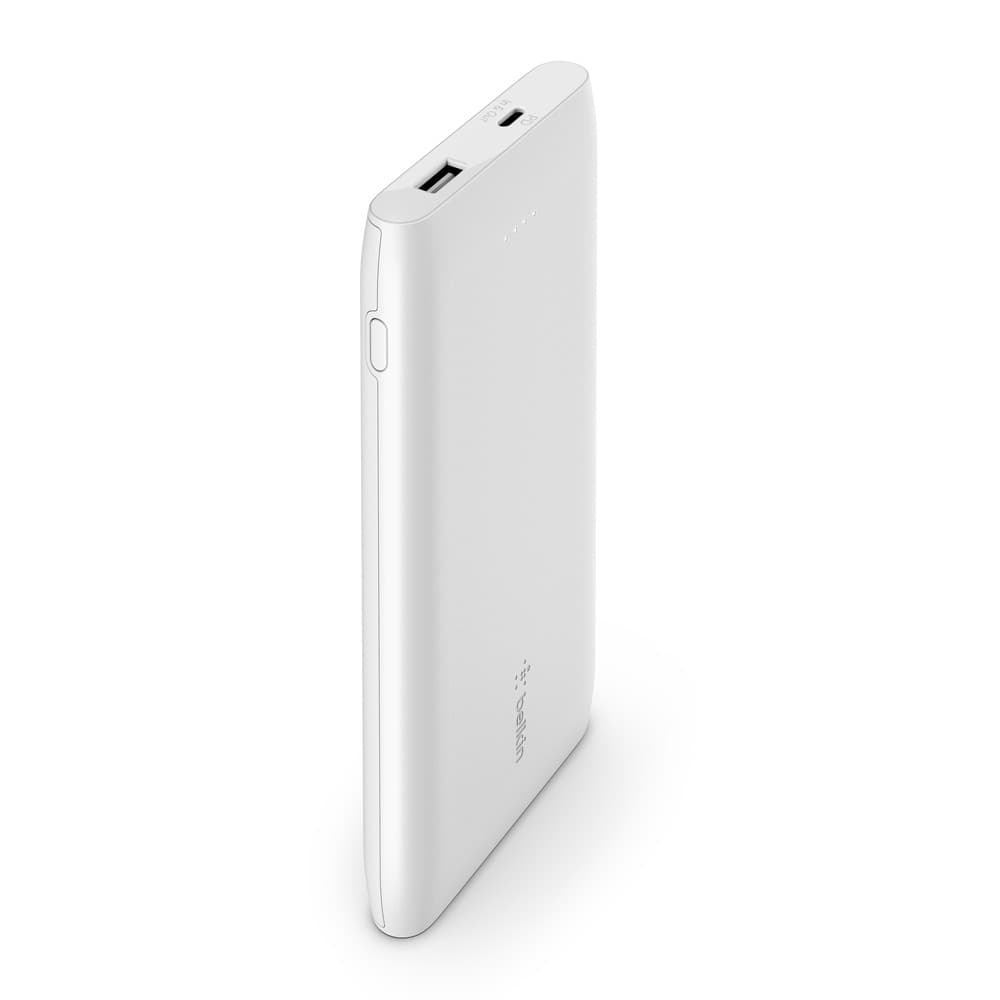 Belkin BoostCharge USB-C PD Power Bank 10K Universally compatible - White