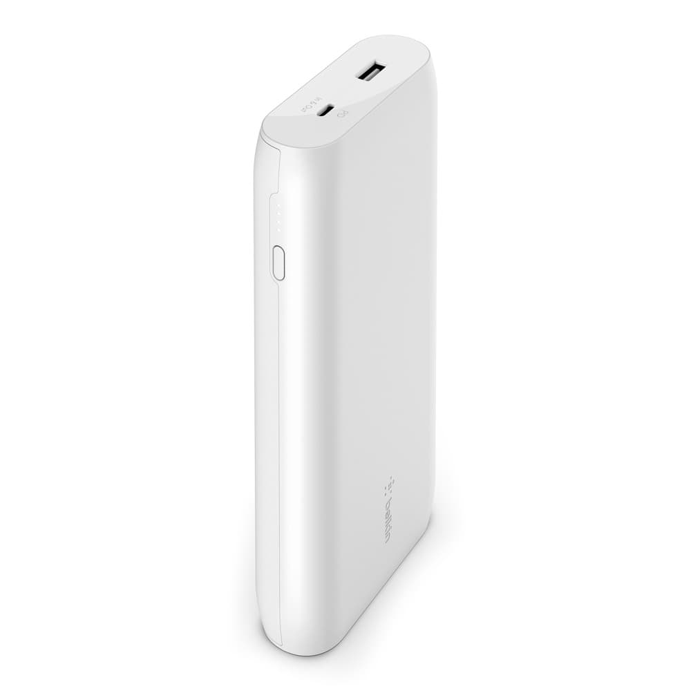 Belkin BoostCharge USB-C PD Power Bank 20K Universally compatible - White