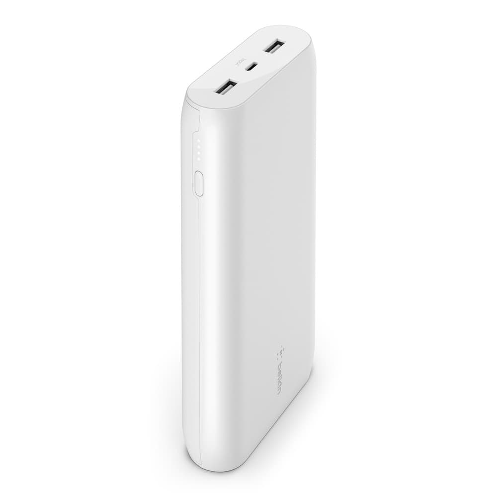 Belkin BoostCharge Power Bank 20K Universally compatible - White