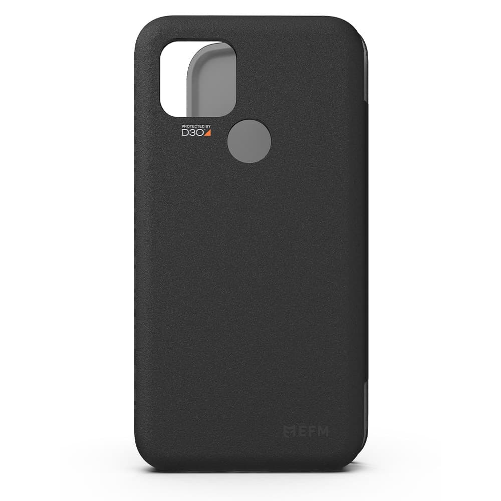 EFM Miami Wallet Case Armour with D3O For Google Pixel 4a (5G) - Smoke Black