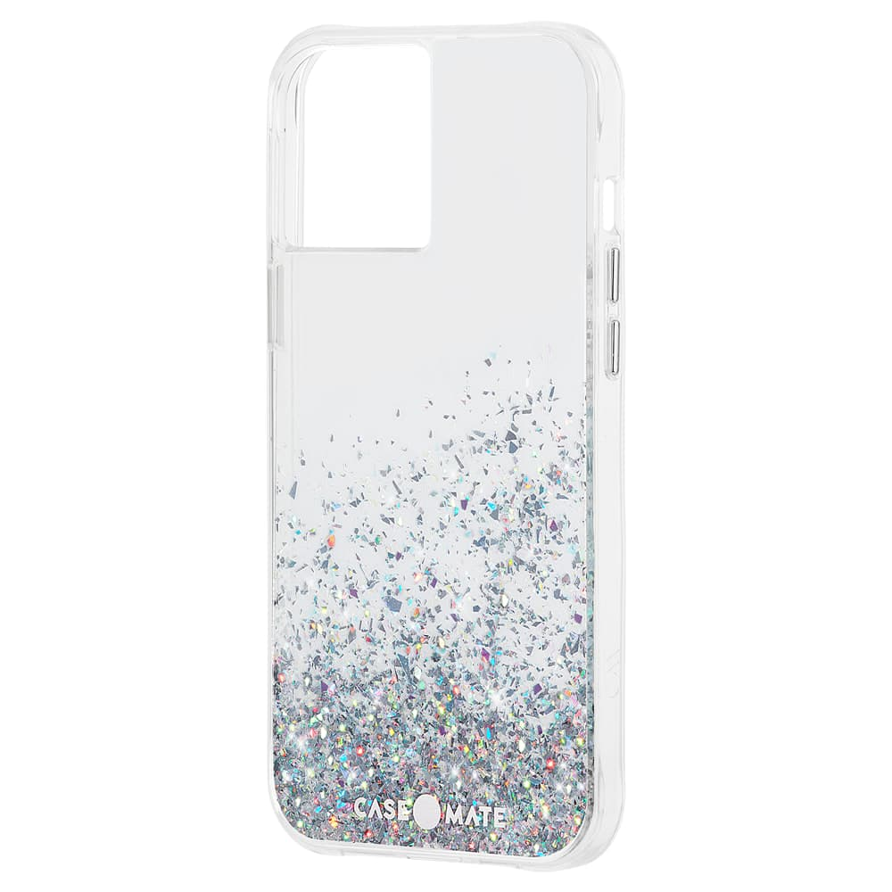 """Case-Mate Twinkle Ombre Case  For iPhone 12/12 Pro 6.1"""" Black Multi"""
