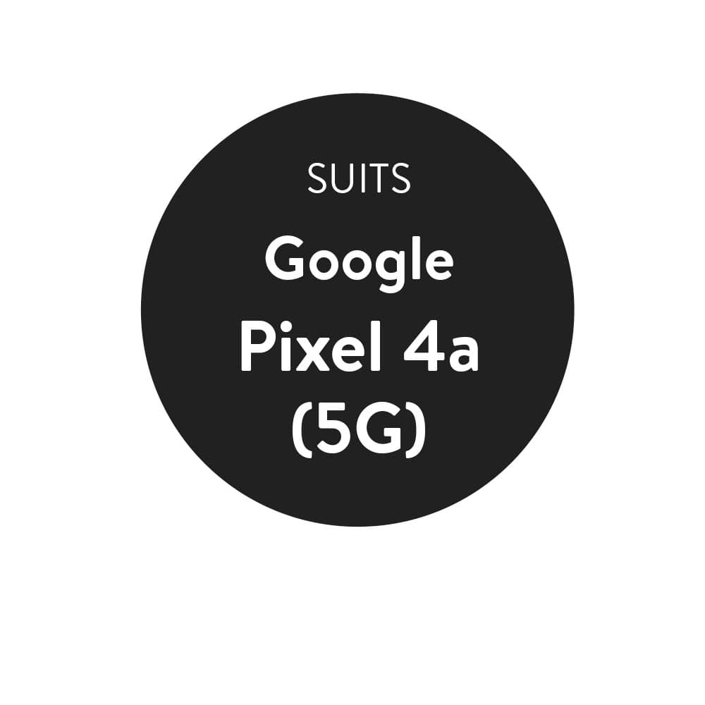 Compatibility Sticker- Circular (27mm diam)  for Pixel 4a (5G) - 6 point 2 inch