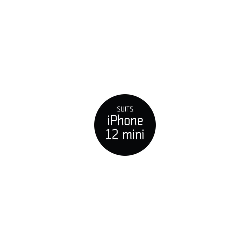 """Compatibility Circle Sticker (30mm - Black) For New iPhone 2020 5.4 (x54 per sheet) For iPhone 12 mini 5.4"""" (x54 per sheet)"""