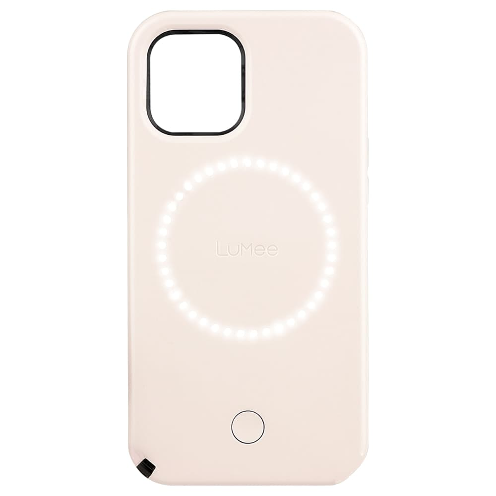 """Case-Mate LuMee Halo Case For iPhone 12 mini 5.4"""" Millennial Pink"""